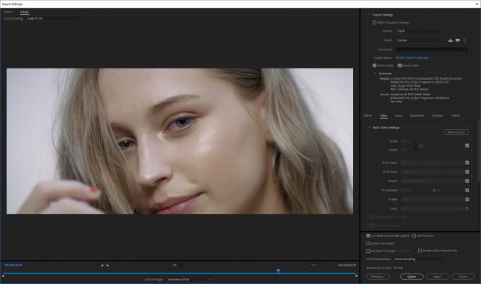 Windows - Adobe Premiere Pro CC 2018 - 8K to 4K Encode
