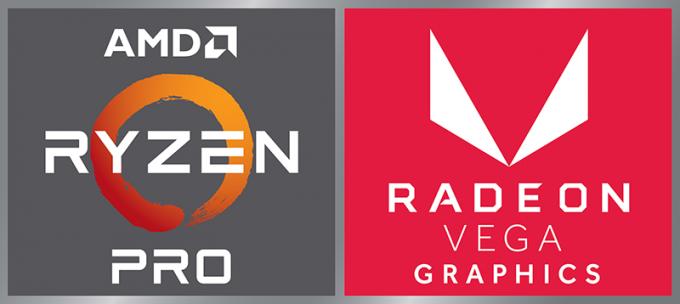 AMD Ryzen Pro with Radeon Vega