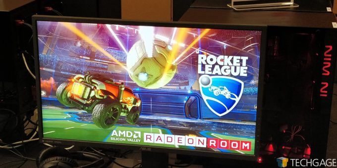 AMD Santa Clara HQ - Branded Screensaver
