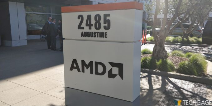 AMD Santa Clara HQ - Entryway Sign