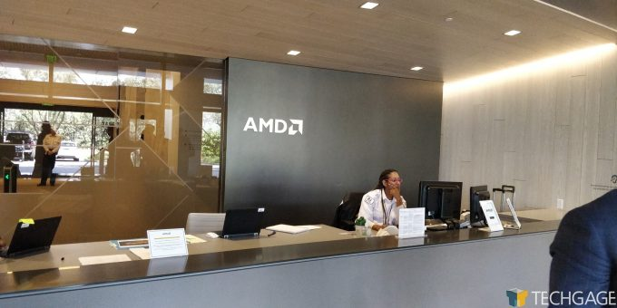 AMD Santa Clara HQ - Front Desk