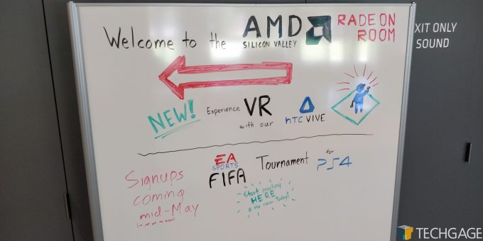 AMD Santa Clara HQ - Game Room Signups
