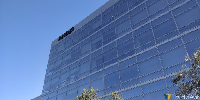 AMD Santa Clara HQ - The Sky's The Limit
