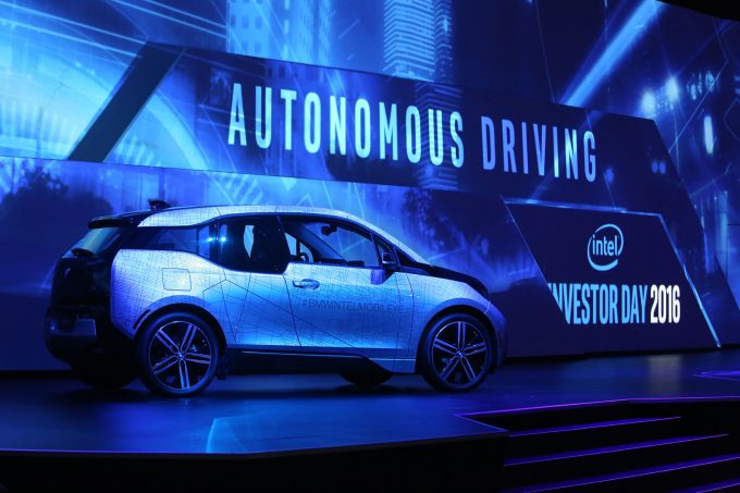 Intel Autonomous Driving with BMW - Investor Day 2016