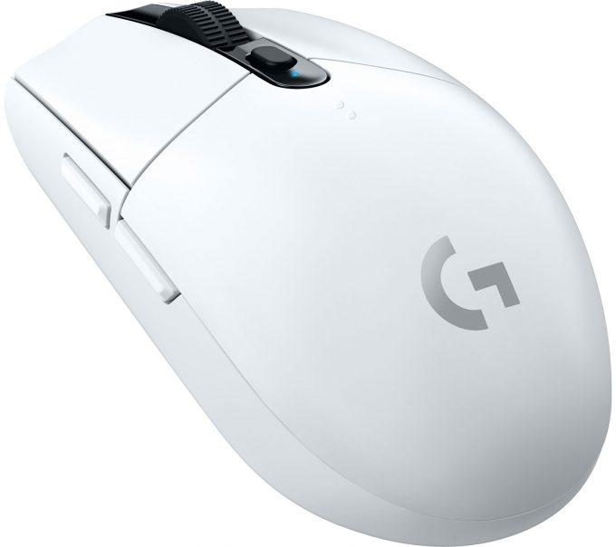 Logitech G305 Lightspeed Wireless Gaming Mouse (White)