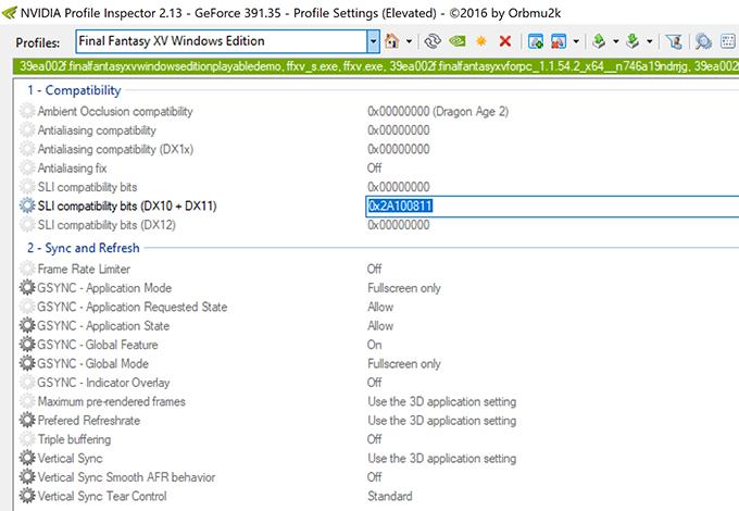 NVIDIA Profile Inspector - Applying A Profile