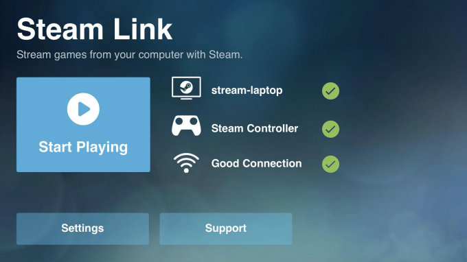 Steam Link Mobile App