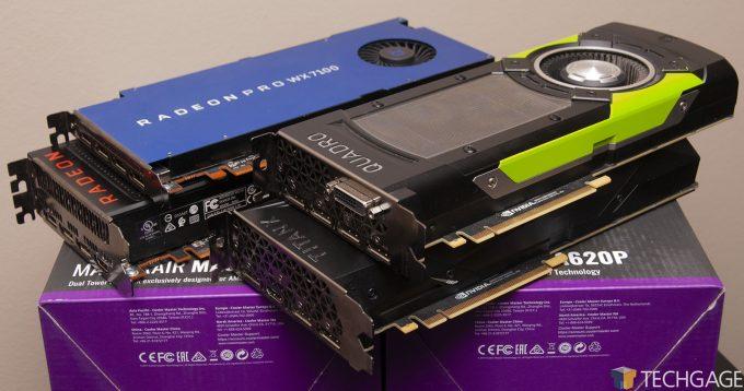 Techgage Workstation GPU Performance Update - Radeon, Radeon Pro, TITAN and Quadro