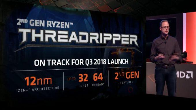 AMD Computex 2018 2nd Gen Threadripper 32 Core