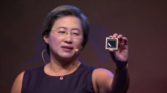 AMD Computex 2018 7nm Vega Instinct Die