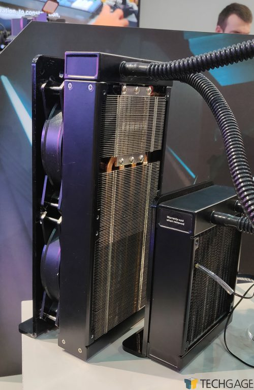 Cooler Master Thermoelectric AIO CPU Cooler - Radiator and TEC
