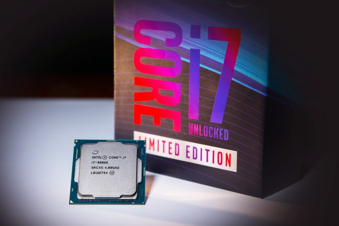 A photo of the Intel 8086k processor packaging( Credit: Intel Co
