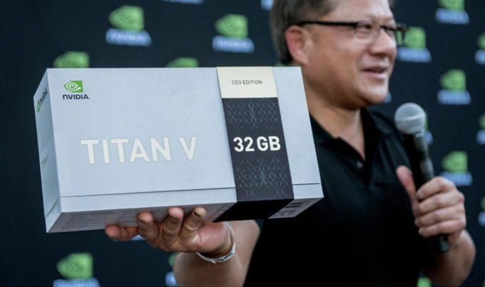 NVIDIA TITAN V - CEO Edition