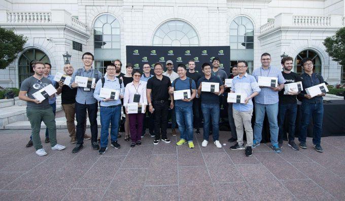 NVIDIA TITAN V - CEO Edition Recipients