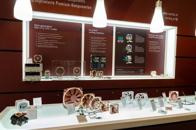Noctua Booth Display Computex 2018