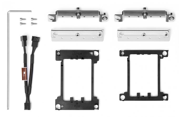 Noctua NH-D9 DX-3647 4U - Mounting Kit
