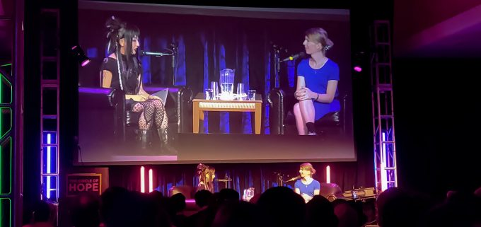 Chelsea Manning Interview at HOPE XII