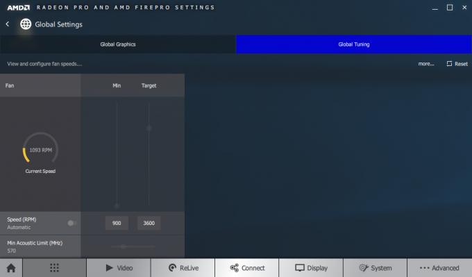 AMD Radeon Pro Settings