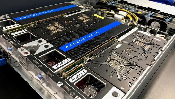 AMD Radeon Pro V340 Virtualized Graphics