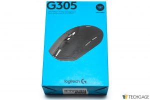 Logitech G306 LIGHTSPEED Wireless Mouse Box