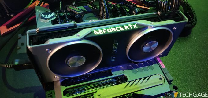 NVIDIA GeForce RTX Performance In OctaneRender, Redshift & V-Ray