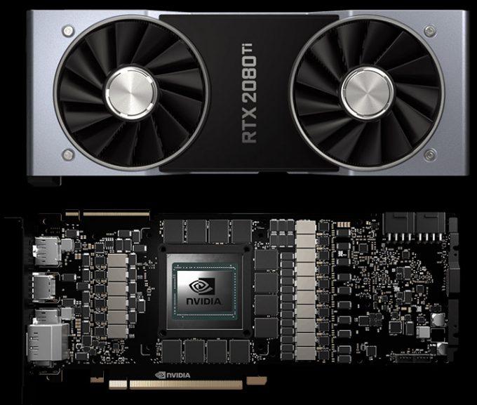 NVIDIA GeForce RTX GPU PCB & Fan