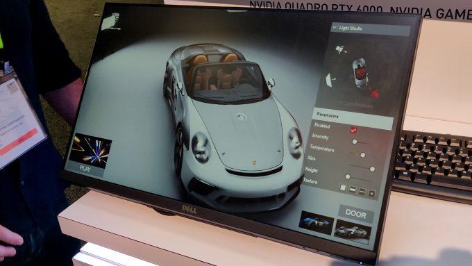 NVIDIA Quadro RTX - Porsche 911 Speedster Concept Demo