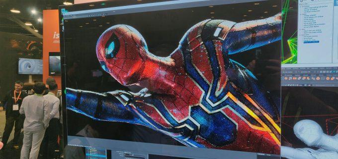 NVIDIA Quadro RTX - Spiderman Live Render
