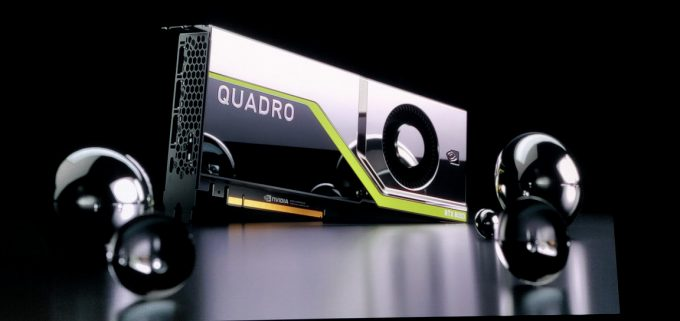 Quadro RTX 8000 On Stage
