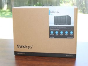 Synology DS1618+ Box