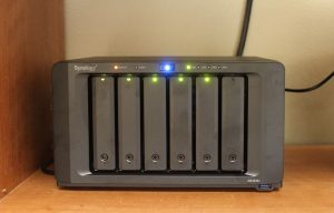 Synology DS1618+ Front LEDs