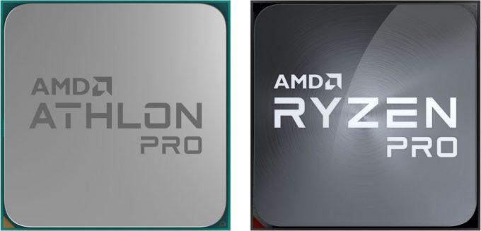 AMD Athlon PRO and Ryzen PRO