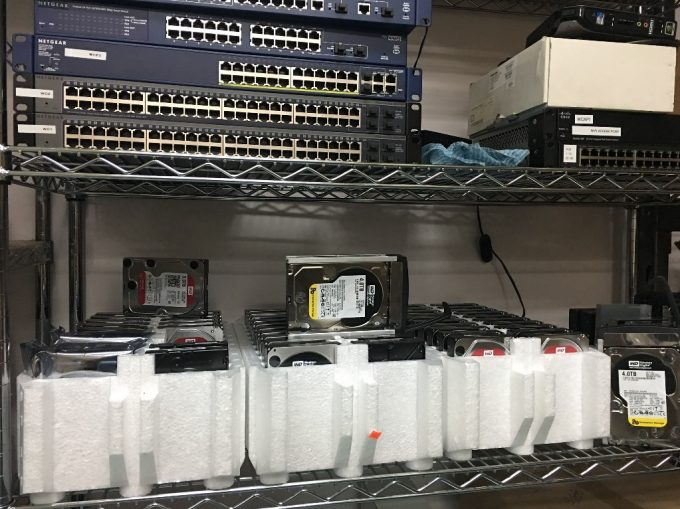 NCIX Breach - Hard Drives
