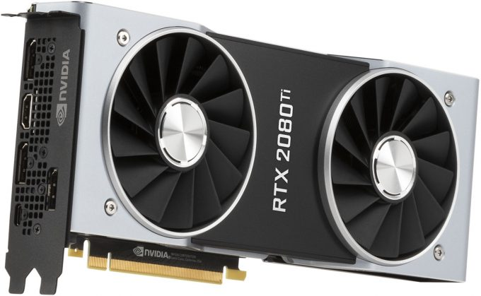 NVIDIA GeForce RTX 2080 Ti - Official Product Shot