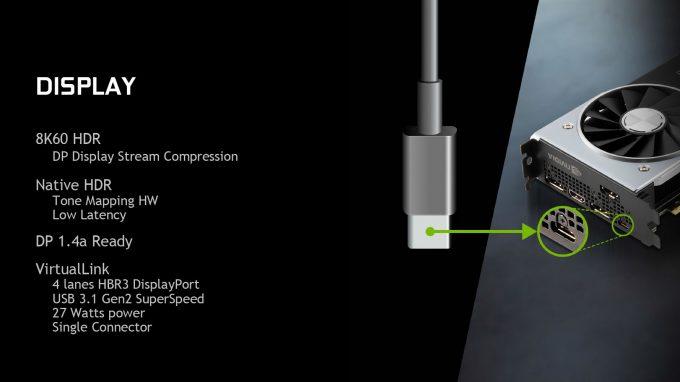 NVIDIA RTX VirtualLink USB Type-C