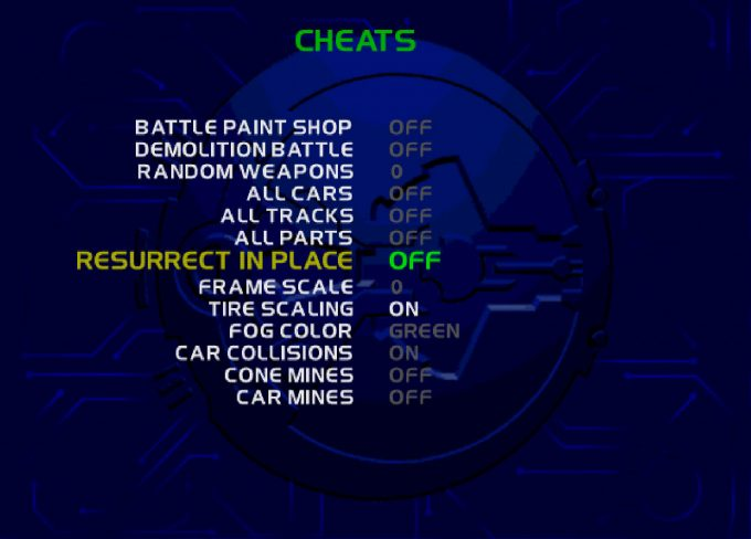 San Francisco Rush 2049 Cheat Codes