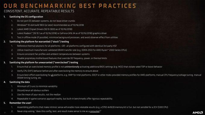 AMD Benchmarking Best Practices