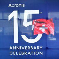 Acronis 15th Anniversary Celebration