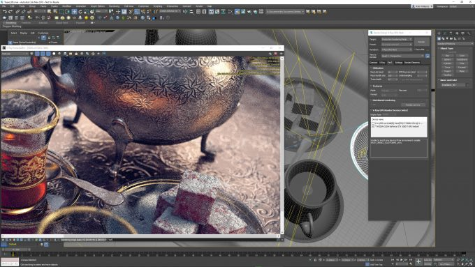 Chaos Group V-Ray GPU Next in Autodesk 3ds Max 2019