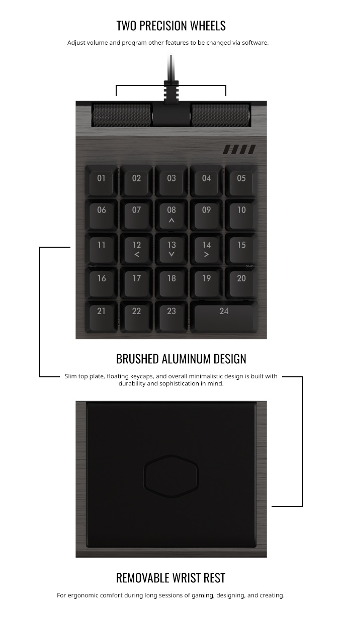 cooler master using kickstarter the analog controlpad using aimpad