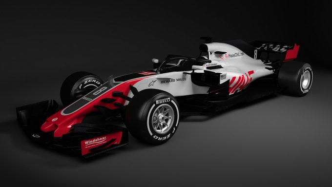 Haas VF-18 Formula 1 Car