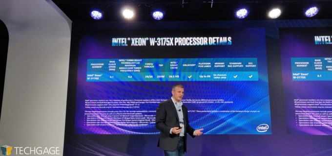 Intel 9th Gen Core CPUs 28-Core Xeon W-3175X