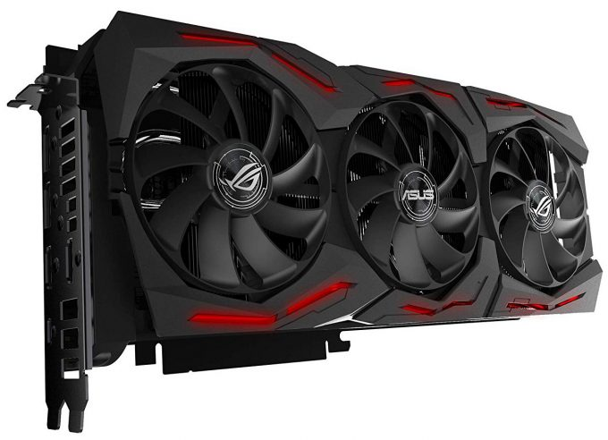 ASUS GeForce RTX 2070 ROG STRIX Quarter View RGB