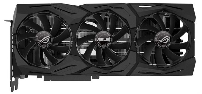 ASUS GeForce RTX 2070 ROG STRIX Top View