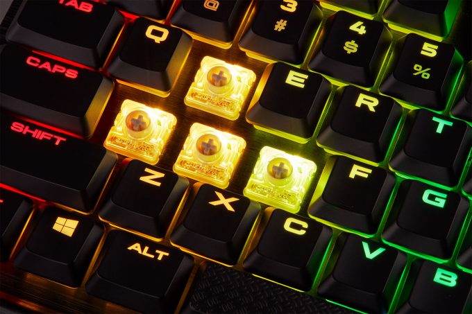 Corsair K70 RGB MK 2 Low-Profile Mechanical Keyboard Review