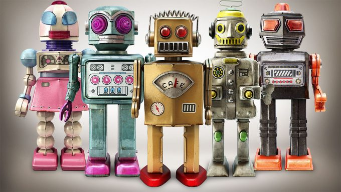 Daniel Sian - Robots - V-Ray for Cinema 4D