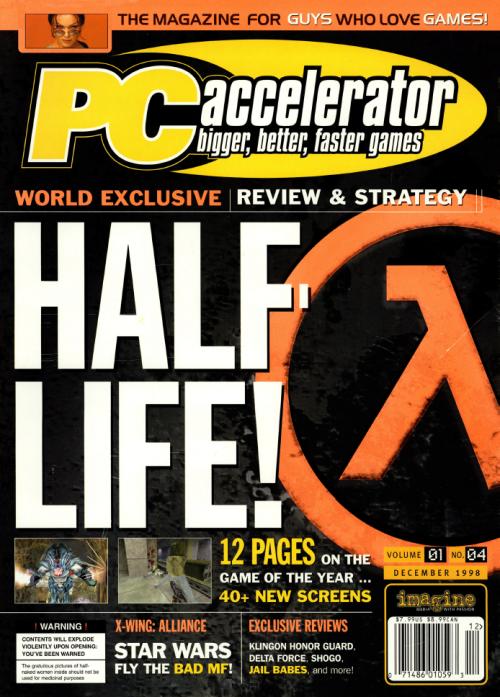 Half-Life on PC Accelerator Magazine