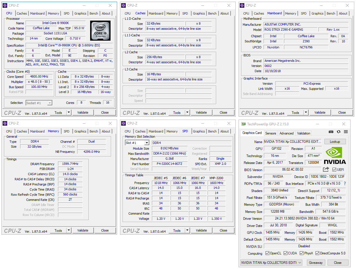 A Look At Intel Core i9-9900K Workstation & Gaming Performance