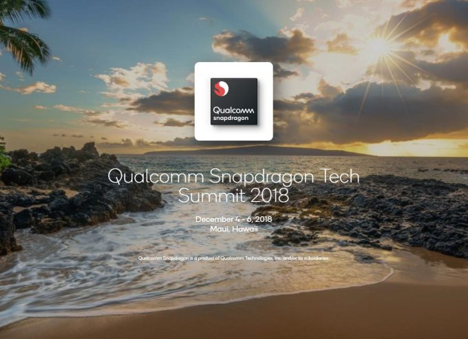 Qualcomm Snapdragon Tech Summit 2018 in Maui, Hawaii