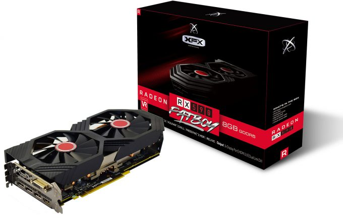 XFX Radeon RX 590 Fatboy Graphics Card With Packaging